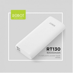 Power Bank Robot 10.000Mah RT130  2 USB Port
