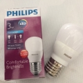 Lampu LED Philips 3Watt Bulb Putih
