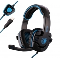 HEADSET SADES WOLFANG SA-901 GAMING ( USB )