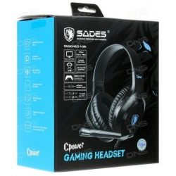 HEADSHET GAMING SADES C POWER SA-716