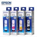 Tinta Printer Epson 003 -L3110, L3150, L5190, ( Cyan, Magenta, Yelloy, Black ) ORIGINAL