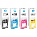 Tinta Printer HP G-Series GT53 BLACK GT52 Cyan, Yellow, Magenta ORIGINAL